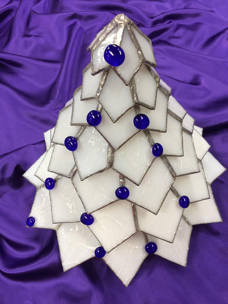 3-D Stained Glass Christmas Tree,