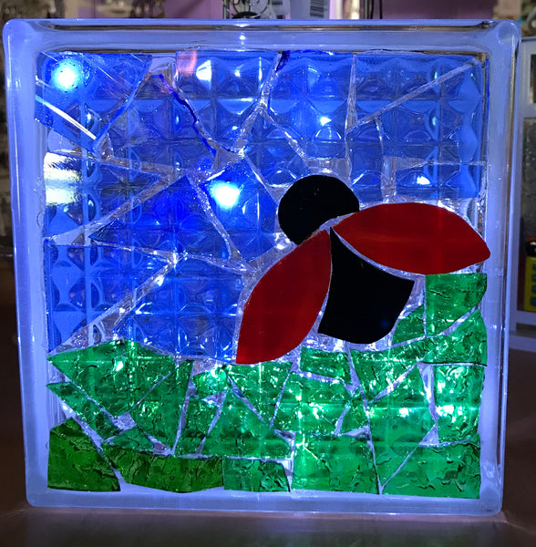 KID'S CAMP Mosaic on Glass Block, Tuesday, March 10, 10:30