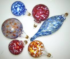 Blown Holiday Ornaments, Weekend