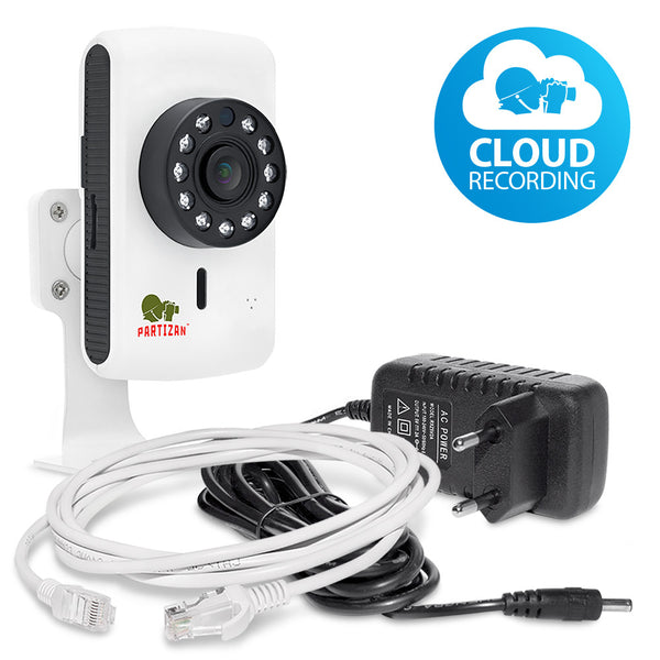 1.0MP IP kamera<br>Cloud Cubic IPC-1SP-IR EC 1.0