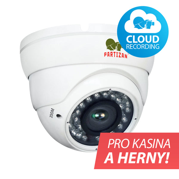 2.0MP Kasino set IP-101<br>1xCAM + Cloudovy záznam