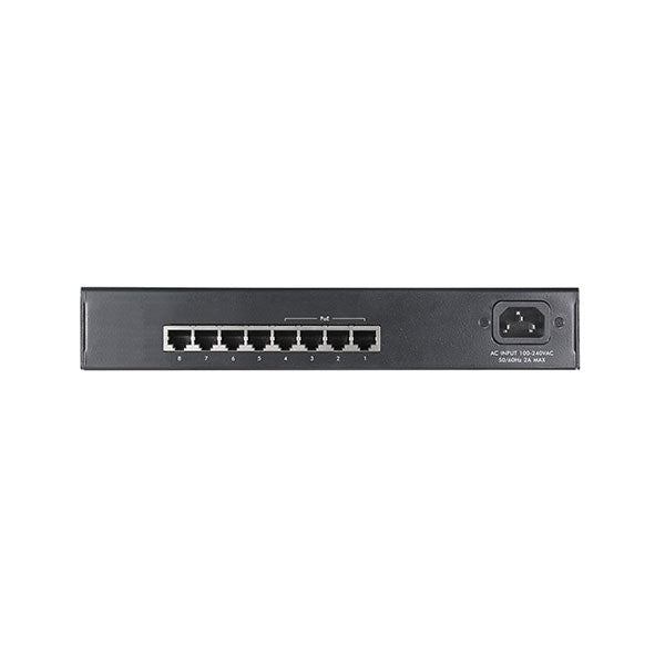 Switch 8 portů ES1100-8P POE
