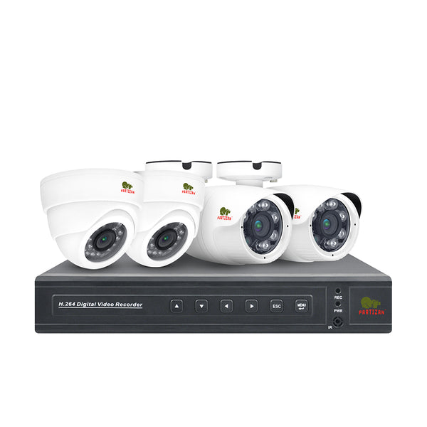 2.0MP Mix set AHD-34<br>4xCAM + 1xDVR