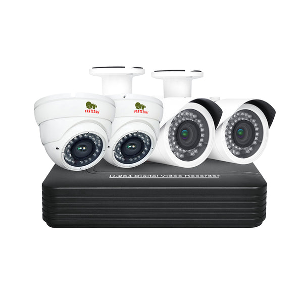 2.0MP Mix set PRO IP-32<br>4xCAM + 1xNVR
