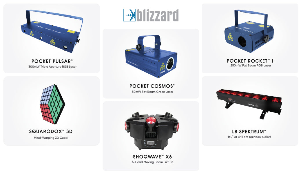 Blizzard New Products DJ Expo 2019