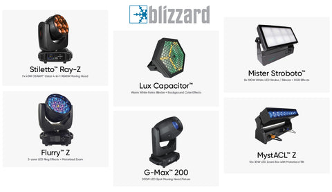 Blizzard debuts 8 new LED light fixtures & accessories at LDI Show 2019