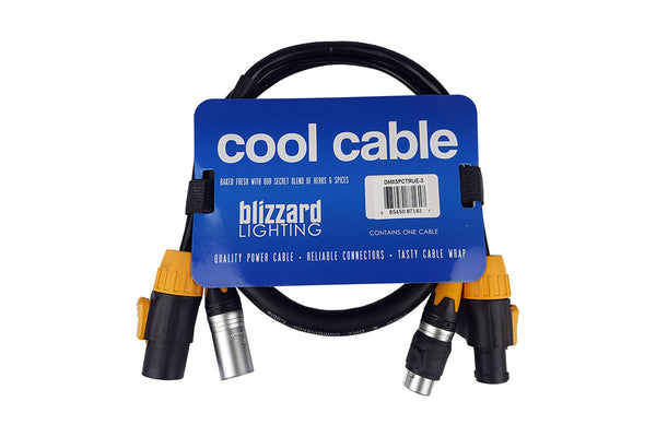 Cool Cables™ TRUE1 Compatible + DMX Combo (3ft/5-pin)