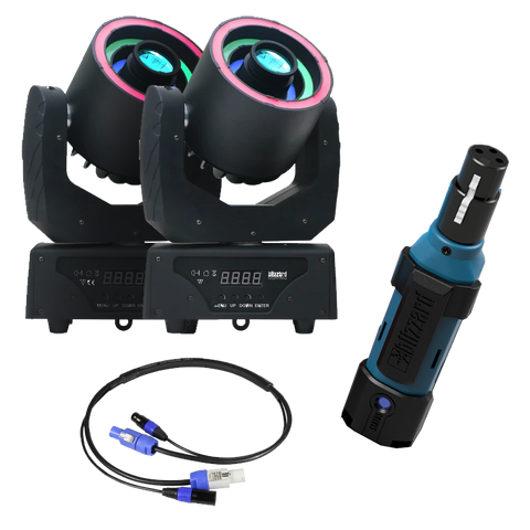 Hypno Spot™  (x2) + SoC-It™ (x2) + Cool Cable™ powerCON Main 10' (x2) Bundle