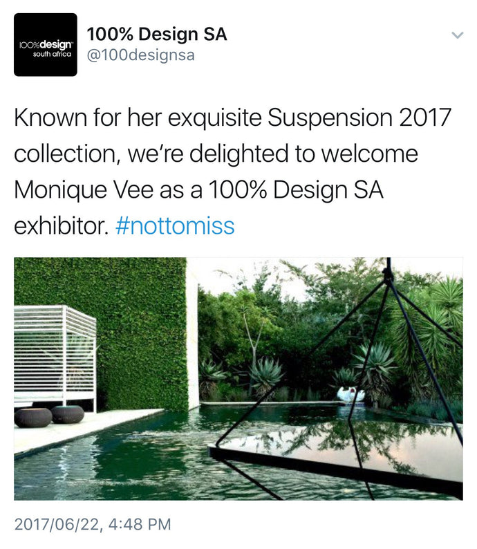See & shop Suspension for the first time in Johannesburg