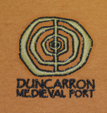 Duncarron Medievel Fort Embroidered T Shirt
