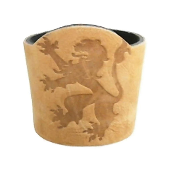 Rampant Lion Debossed Beverage Holder