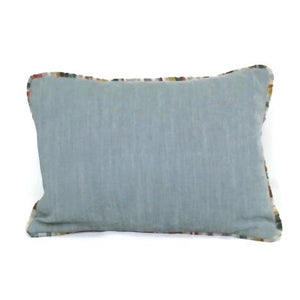 "Genuine ""To the Trade"" Blue Denim Color Pillow"