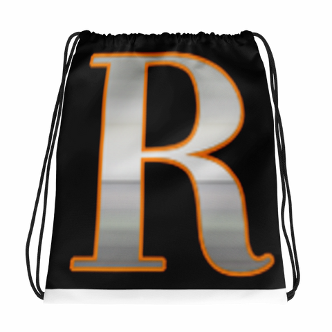 R(Rizza) Logo/Abs Drawstring bag