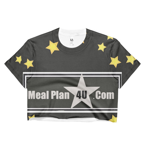 MP4U Gold Collection Ladies Crop Top