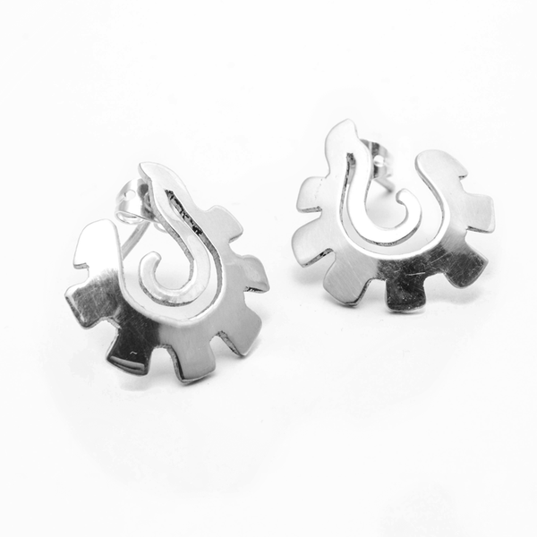 Aretes caracol Ch