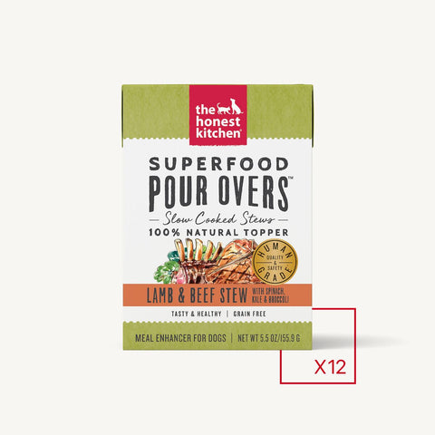 Honest Kitchen SUPERFOOD POUR OVERS - LAMB & BEEF