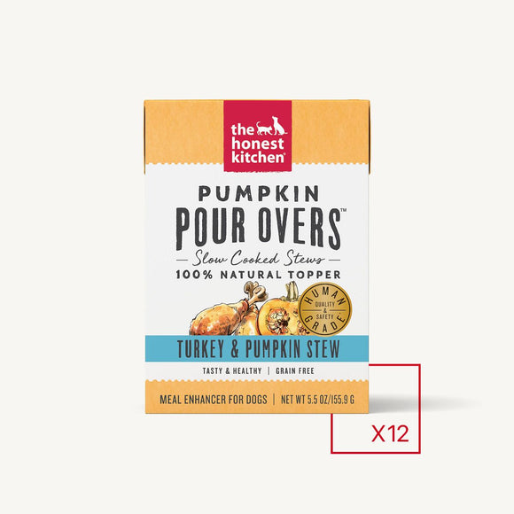 Honest Kitchen PUMPKIN POUR OVERS - TURKEY