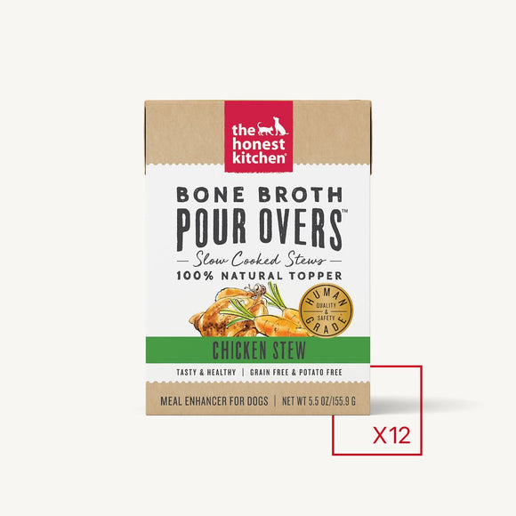 Honest Kitchen BONE BROTH POUR OVERS - CHICKEN