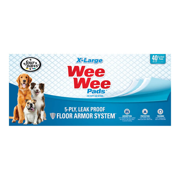 Four Paws Wee-Wee® Pads, X-Large