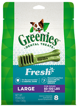 GREENIES™ Fresh Dog Dental Treats 12oz