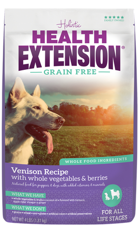 Health Extension Grain Free Venison Recipe