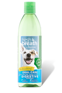 TROPICLEAN ORAL CARE WATER ADDITIVE FOR DOGS PLUS DIGESTIVE SUPPORT
