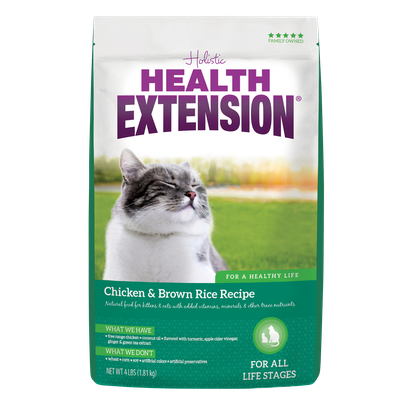 Health Extension Kitten & Cat Chicken & Brown Rice Recipe