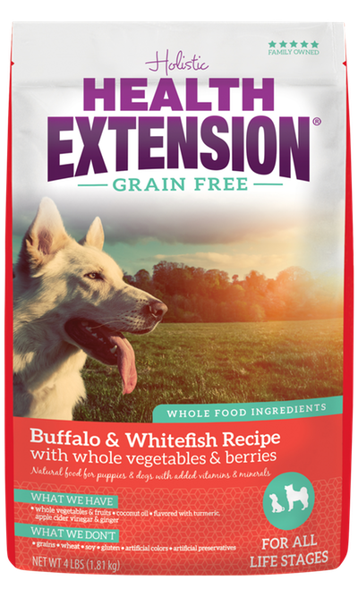 Health Extension Grain Free Buffalo & Whitefish Recipe