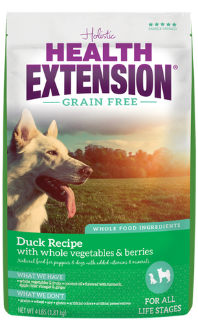 Health Extension Grain Free Duck Recipe