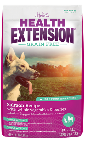 Health Extension Grain Free Salmon Recipe