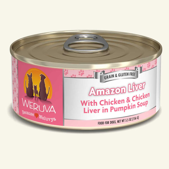 Weruva Amazon Liver Dog