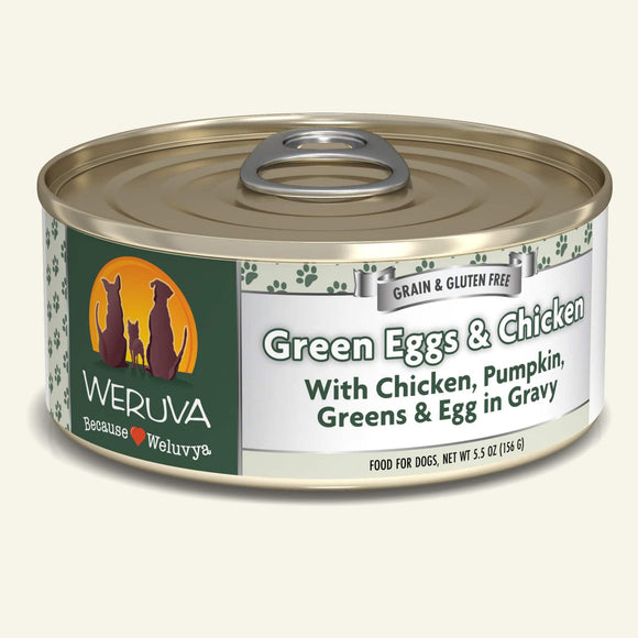 Weruva Green Eggs & Chicken Dog