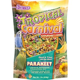 Brown's Tropical Carnival® Gourmet Parakeet Food