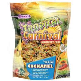 Brown's Tropical Carnival® Gourmet Cockatiel Food