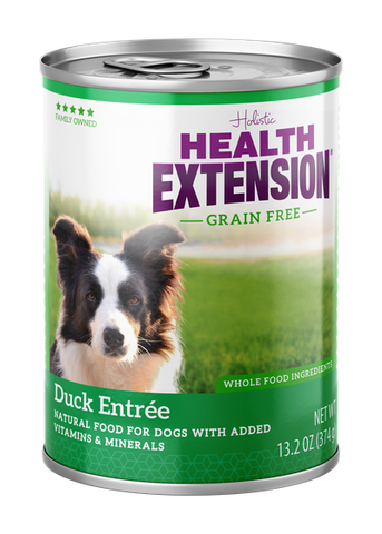 Health Extension Dog Grain Free Duck Entree