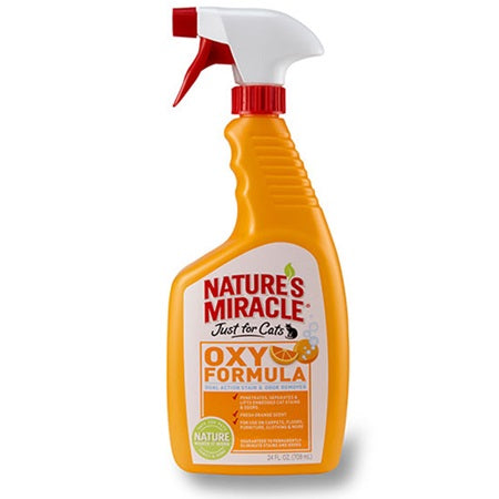 Natures Miracle Oxy Formula Stain & Odor Remover - Just for Cats