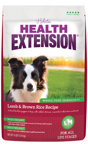 Health Extension Lamb & Brown Rice Recipe