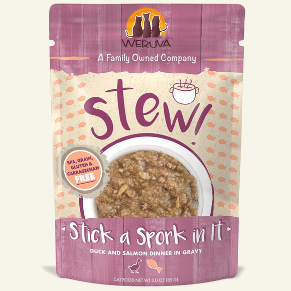 Weruva Cat Stew! (pouch) Stick a Spork in It