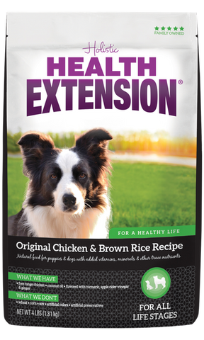 Health Extension Original Chicken & Brown Rice Recipe