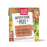 The Honest Kitchen Butcher Block Pate: Beef, Cheddar, & Farm Veggies Pate