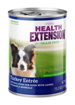 Health Extension Dog Grain Free Turkey Entree