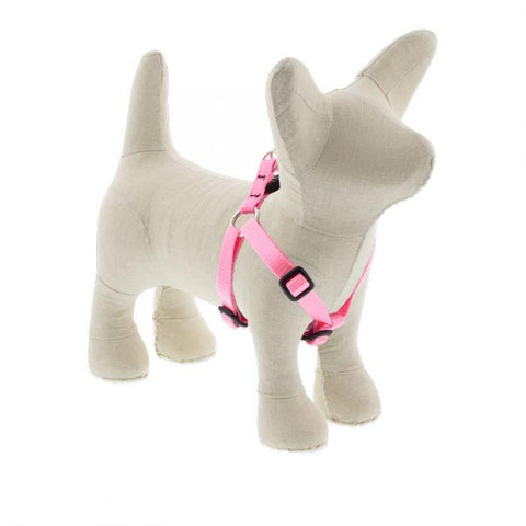 Lupine Basics Pink Step In Harness