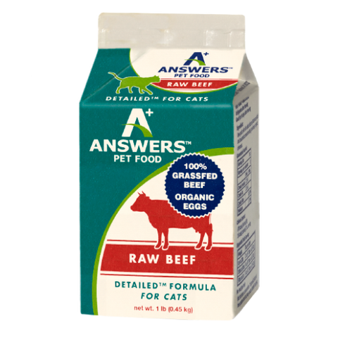 ANSWERS CAT FROZEN DETAILED BEEF