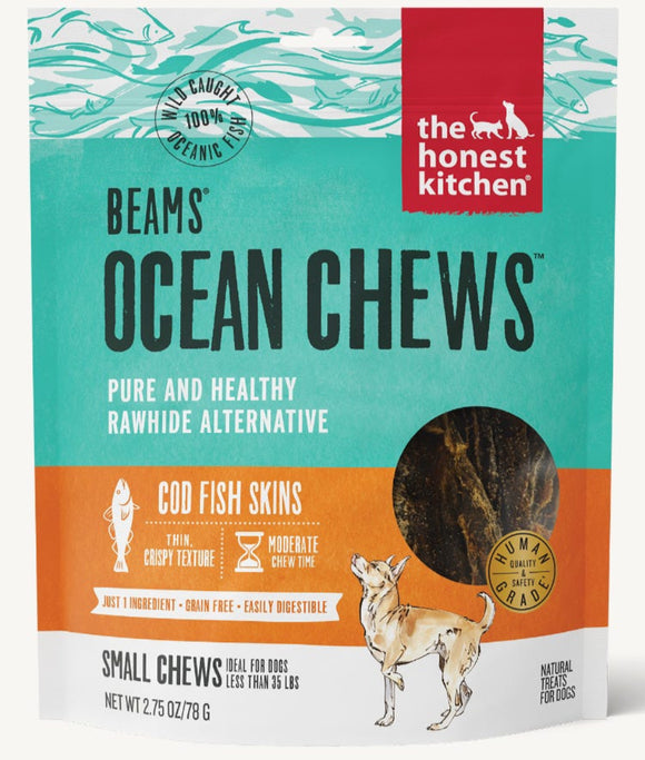 Honest Kitchen Beams Ocean Chews Cod