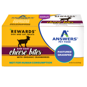 ANSWERS REWARDS GOAT CHEESE BITES CRANBERRY