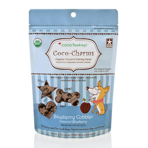Coco Therapy Coco-Charms Training Treats Blueberry Cobbler