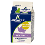 ANSWERS DOG FROZEN DETAILED TURKEY