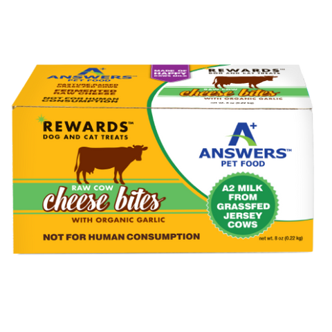 ANSWERS REWARDS COW CHEESE BITES GARLIC