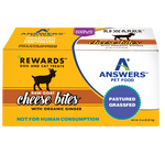 ANSWERS REWARDS GOAT CHEESE BITES GINGER