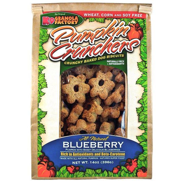 K9 Granola Factory Pumpkin Crunchers with Blueberry